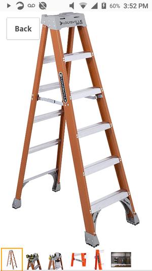 Louisville 6Ft Fiberglass Ladder for Sale in San Francisco, CA