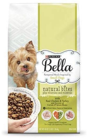 Bundle of 3 bags Bella Purina Small Dogs dry food for Sale in Charlotte, NC