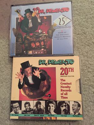 Dr. Demento 20th Anniversary Collection: The Greatest Novelty Records Of All Time cd lot for Sale in Davie, FL