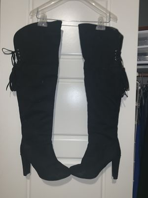 Thigh high boots 7.5 for Sale in Austin, TX
