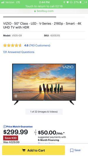 VIZIO 50 inch TV BRAND NEW for Sale in Laguna Niguel, CA