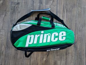 Prince Tour Team Tennis Racket Pack Bag Backpack used but in great shape, no rips. for Sale in Los Angeles, CA
