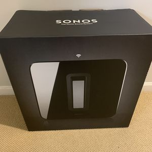 NEW Sonos Sub, brand new in box! Retails for $700. for Sale in Mason, OH