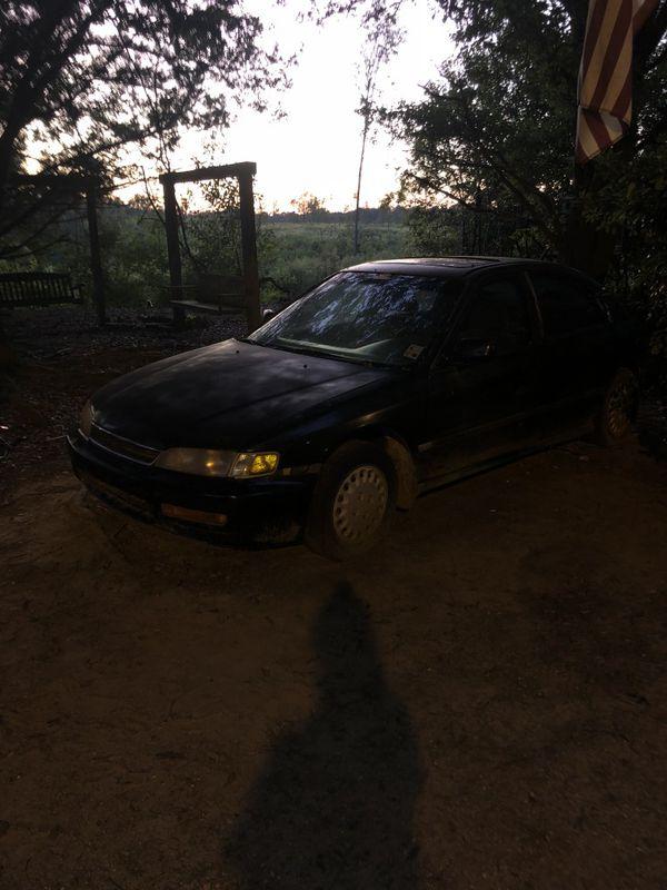 1996 honda accord dx manual transmission