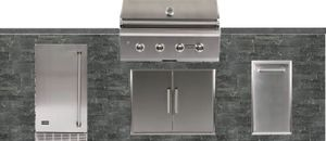 Outdoor Island Gourmet Kitchen BBQ Area 6ft to 8ft, FREE DELIVERY, FREE INSTALLATION for Sale in North Miami, FL