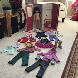 American Girl Doll 18in Retired Ivy With Accessories Perfect For Gift $400 FIRM for Sale in Happy Valley,  OR