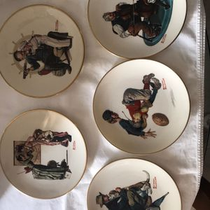 Norman Rockwell Gorham China Plate Collection for Sale in Pompano Beach, FL