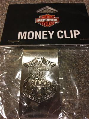Harley Davidson money clip for Sale in Gainesville, VA