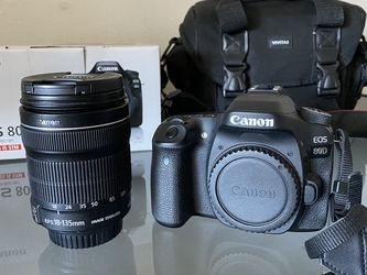 Canon EOS 80D DSLR Camera with 18-55mm STM Lens for Sale in Aurora,  CO
