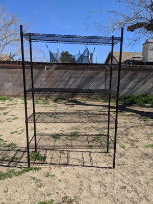 Black shelf 48x18x72 for Sale in Palmdale, CA