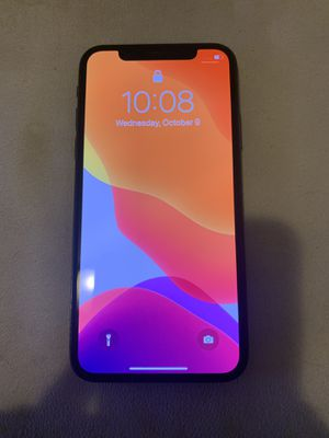 iPhone X 64 gb (UNLOCKED for ANY carrier) $450 FIRM for Sale in Trenton, NJ