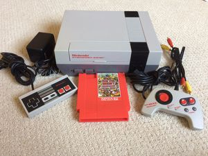 Refurbished Original Nintendo with 143 Games in 1 Cartridge for Sale in Rogers, MN