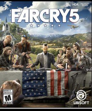Far Cry 5 PS4 for Sale in Falls Church, VA