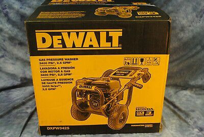 DeWALT 3400 gas pressure washer