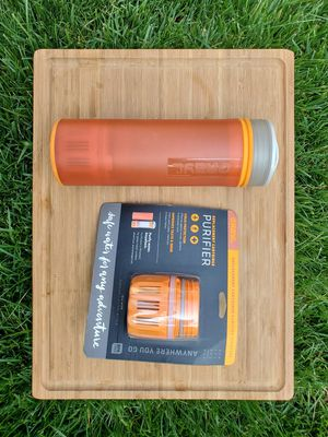 GRAYL Ultralight Water Purifier bottle + Additional Replacement Filter for Sale in San Diego, CA