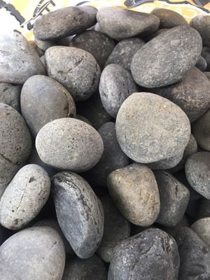 Landscape Rocks - Mexican Beach Pebble - Gray - 240 lbs for Sale in Houston, TX