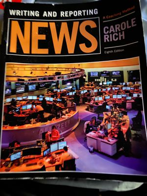 Writing and reporting news by Carole Rich for Sale in Los Angeles, CA