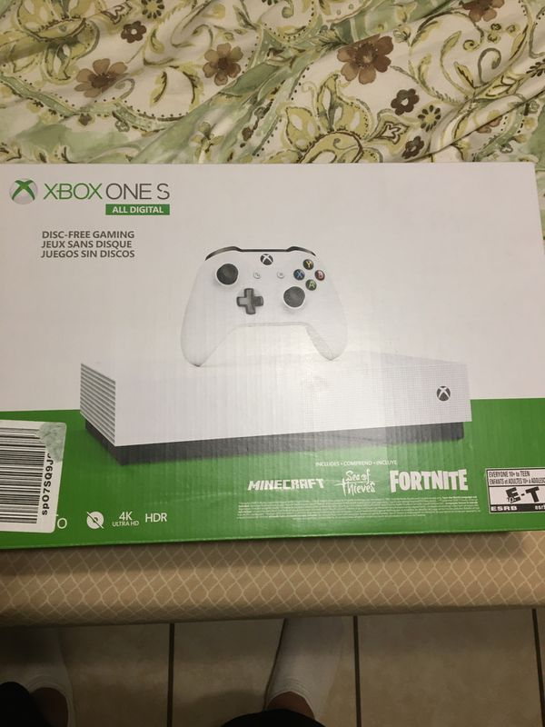 Xbox One S 1tb NEW Sealed comes with 3 Games