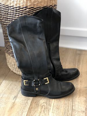 All leather riding boots size 7.5 for Sale in Vista, CA
