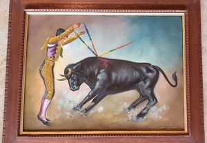 Hand Painted Matador for Sale in Frisco, TX