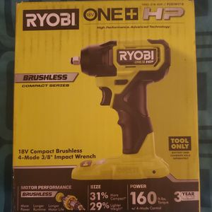 RYOBI 18V Compact Brushless Impact Wrench for Sale in Phoenix, AZ