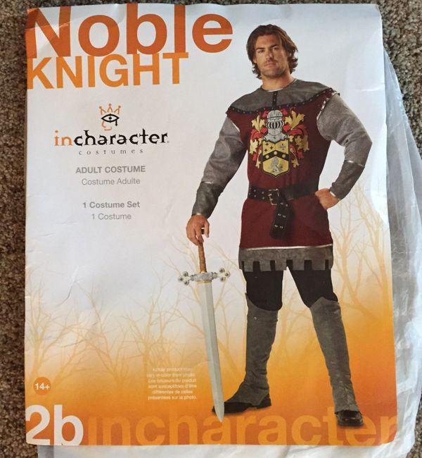Knight Halloween costume men's large