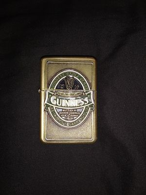 Guiness beer Zippo from Ireland for Sale in Westminster, CA