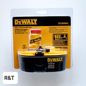 DEWALT 18-Volt XRP Extended Run-Time Battery Pack with Security Strap for Sale in Fullerton, CA