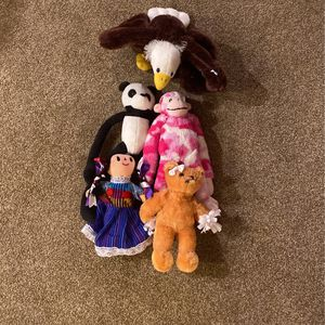 Pack of 5 Plushies for Sale in San Diego, CA