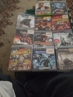 Play Station 3 Games for Sale in Sycamore,  IL