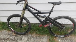 Cannondale full suspension specialized forks triple crown all race face great bike works perfect, I'm moving must sell thx. for Sale in Seattle, WA
