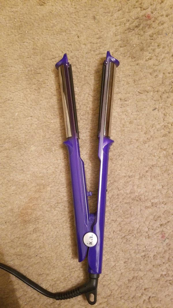 ion Straight N' Spiral Styling Iron