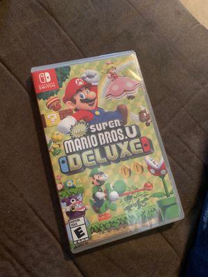 Mario bros u deluxe for Sale in Philadelphia, PA