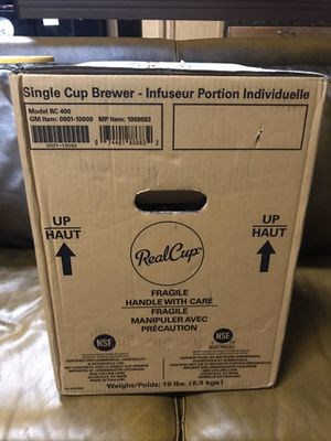 Grindmaster Real Cup Single Cup Brewer, Coffee Maker for Sale in Fort Lauderdale, FL