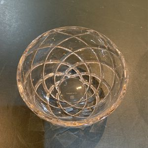 Tiffany and Co. Crystal Glass Candy Dish Bowl for Sale in Boca Raton, FL