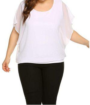 Plus size 2X scoop neck chiffon blouse for Sale in Woodbridge, VA