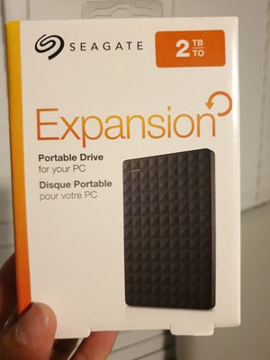 NEW 2TB Seagate portable hard drive for Sale in Sarasota, FL