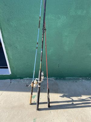 Fishing rods for Sale in Palmdale, CA