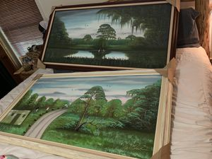 Al black highway men paintings for Sale in Fort Pierce, FL