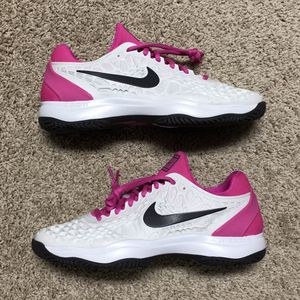 NWOB Nike Zoom Cage 3 Nadal Tennis Shoes - 'Platinum Tint Grey' (918193-005) SIZE 9.5 for Sale in Clermont, FL