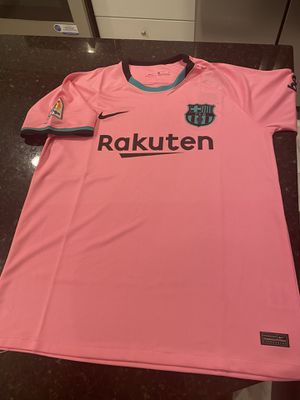 20-21 Nike Barcelona soccer jersey   medium   for Sale in Sterling, VA