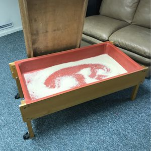 Rice Table Sand Box: Free for Sale in Newtown, CT
