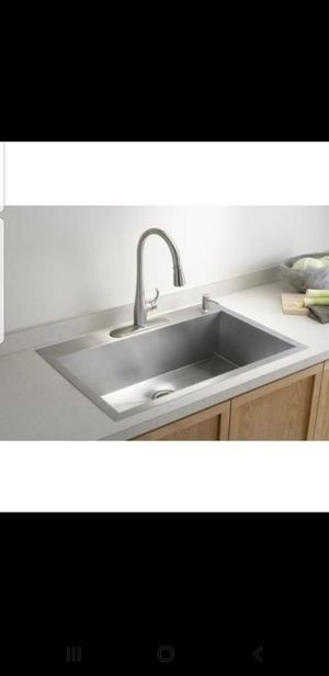 Vault undermount Single Basin sink *NEW* for Sale in Corona, CA