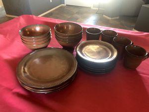 Rustic Dish Set for Sale in Yuma, AZ