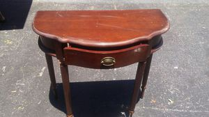 Antique in table very nice that a hardwood for Sale in Tampa, FL
