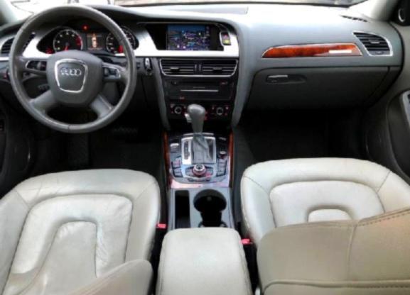 12 Audi A4 Cruise Control