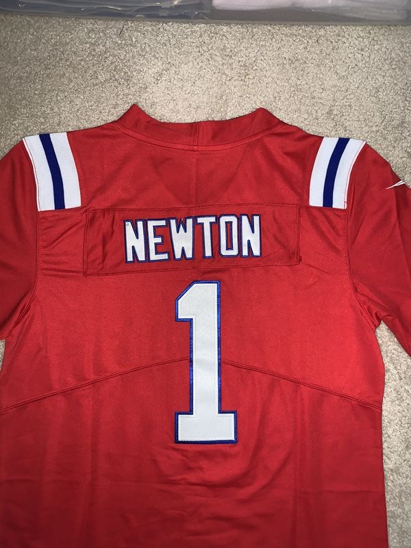 Can Newton New England Patriots Jersey