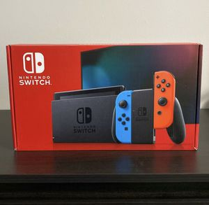 Brand New Nintendo Switch! Neon blue and red joycons! for Sale in South Salt Lake, UT
