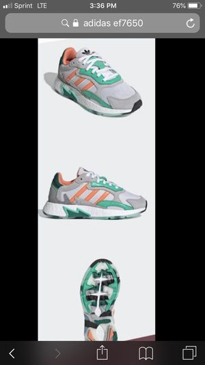 Adidas Tresc Run J 'Sunset Blaze' kids size 6.5 / woman's size 8 / men's size 6.5 for Sale in Westminster, CA