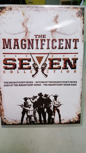 The Magnificent Seven Collection 4 Films for Sale in Toddville, IA